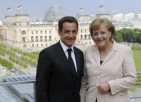Nicolas Sarkozy et Angela Merkel (Berlin, 16 mai 2007) - Photo : © (...)