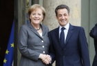 Nicolas Sarkozy et Angela Merkel (Paris, 04.02.2010) - Photo : © MAEE, F. de (...)